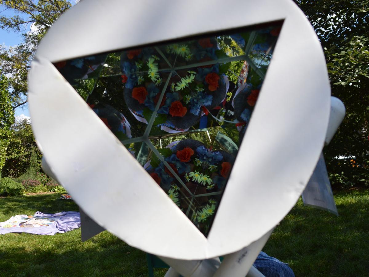 Kaleidoscope close-up