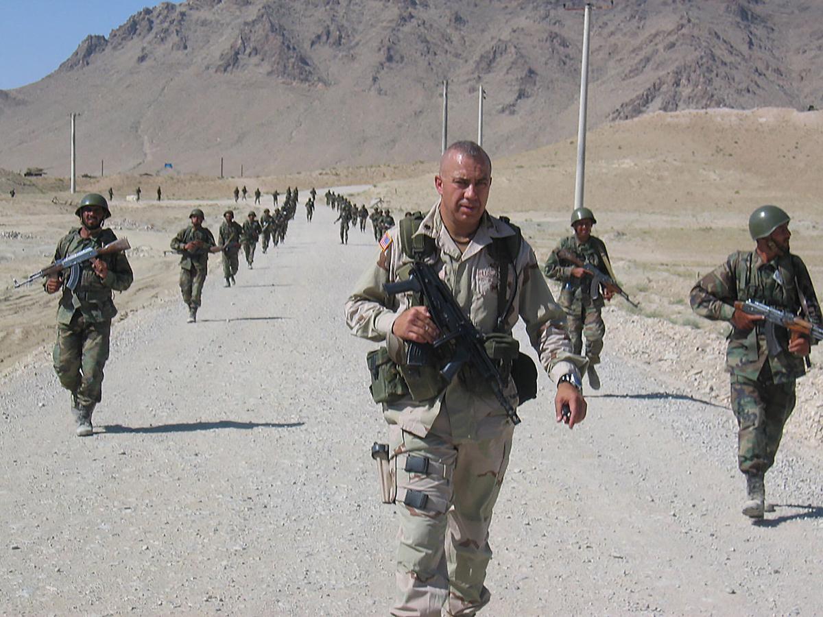 Tom Brewer in Afghanistan