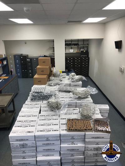 More than 1,600 pounds of THC edibles, THC wax, marijuana seized in