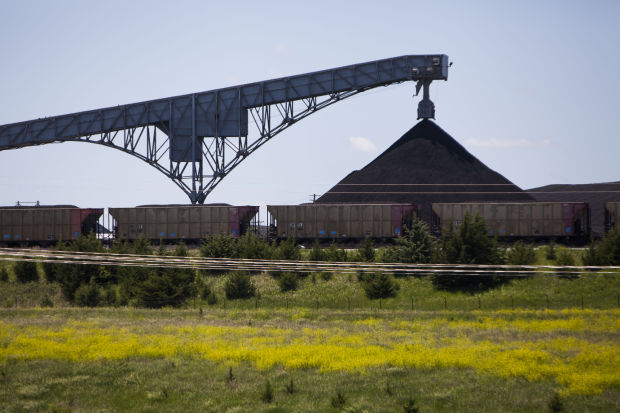Hallam coal plant