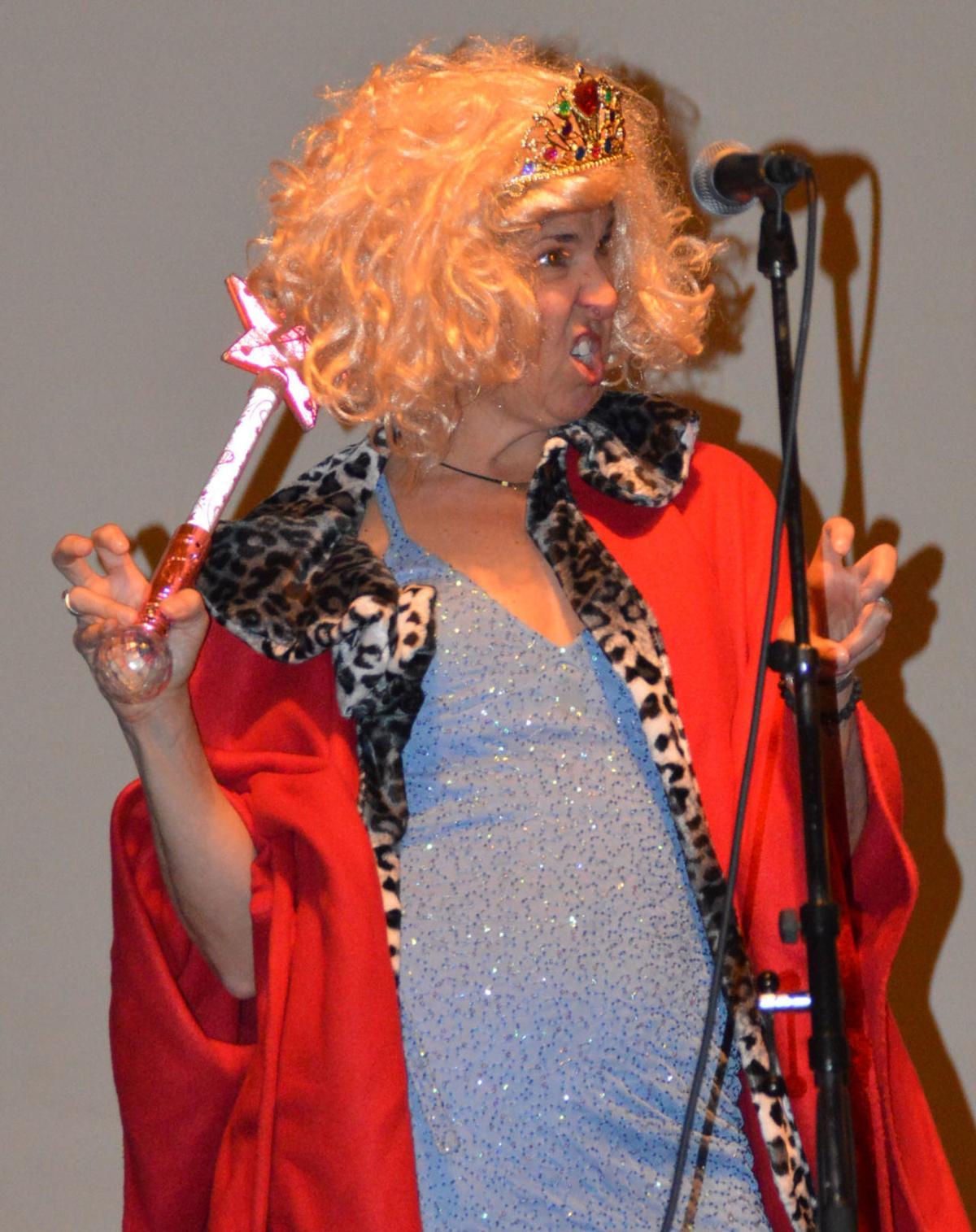 Nancy Peterson as the Last Queen of Quivira
