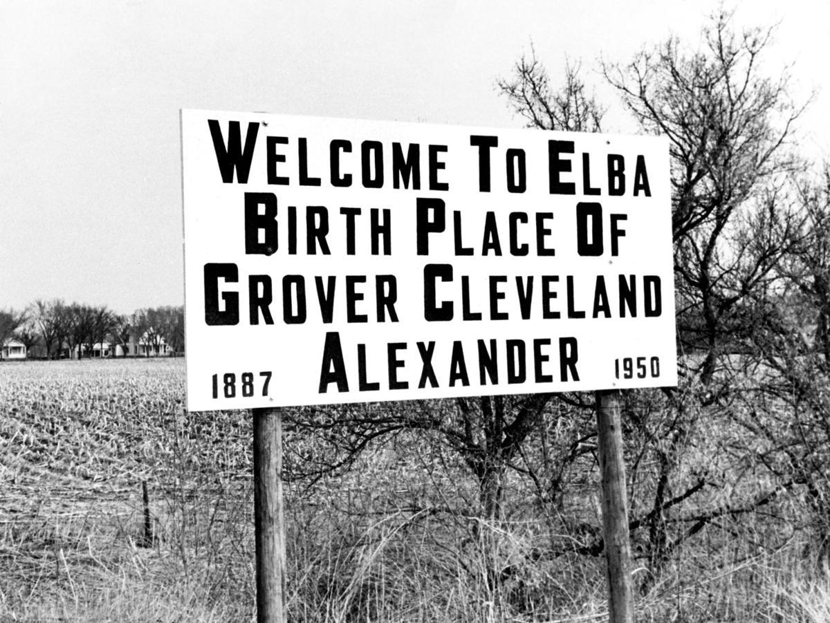 Grover Cleveland Alexander's birthplace - Elba, Nebraska