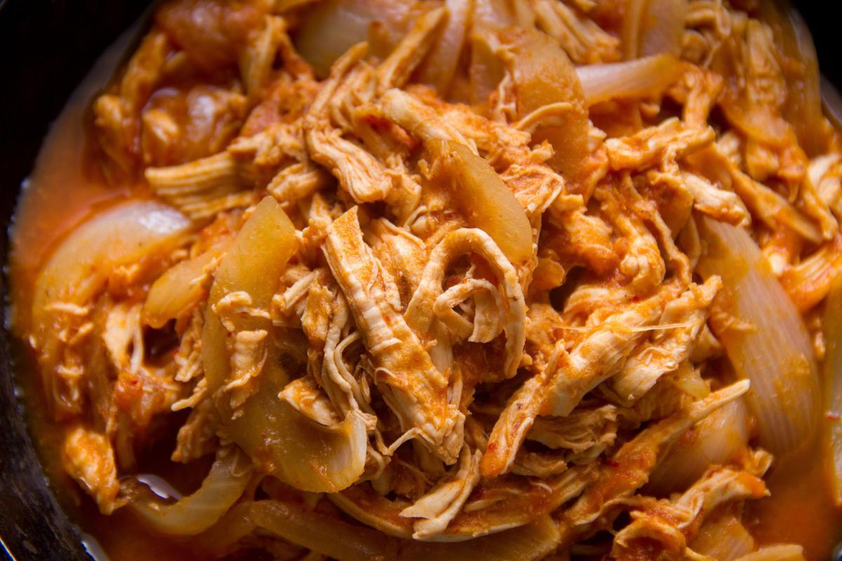 Copal's chicken tinga