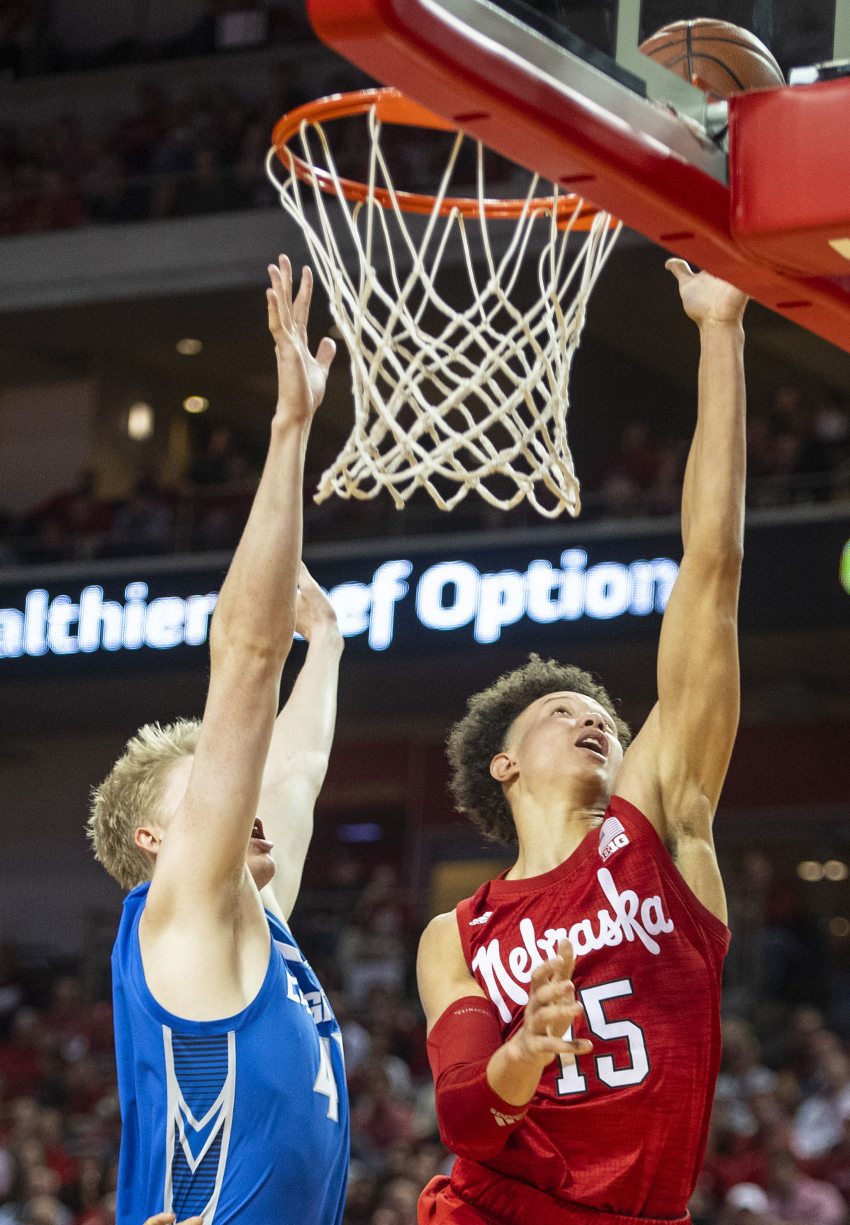 Creighton vs. Nebraska, 12.8