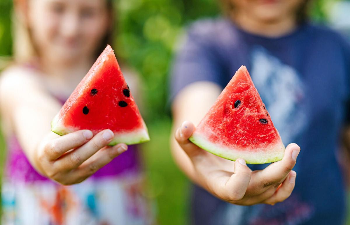 Watermelon wedges