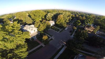 Near South drone photograph