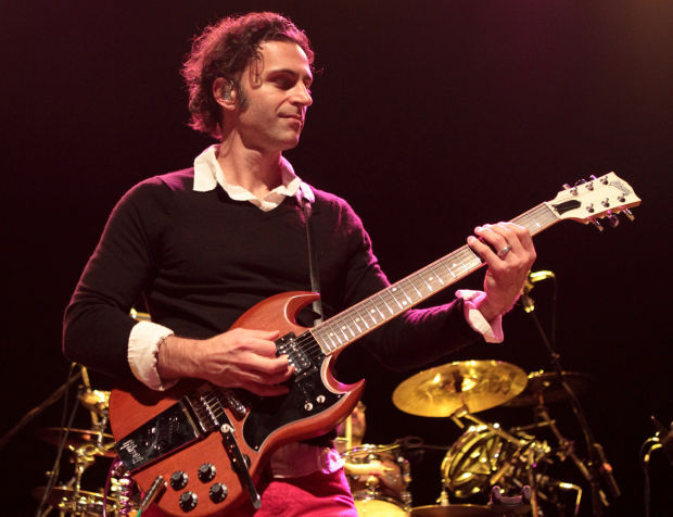Musician Dweezil Zappa, son of Frank Zappa, performs with his band Zappa  Plays Zappa at Rams Head Live in Baltimore.