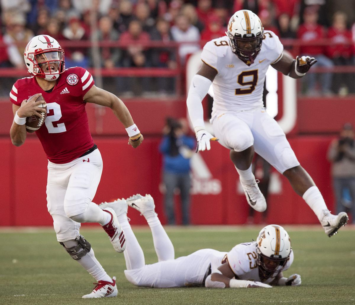 huge discount 505be 0f2e4  A pretty good show   Husker offense powers win No. 1 of the Frost era