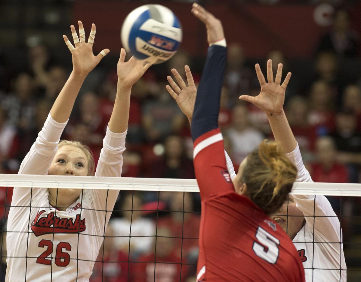 NCAA volleyball, Stony Brook vs. Nebraska, 12/1/17