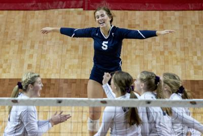 C-2 state volleyball, GICC vs. Superior 11.8