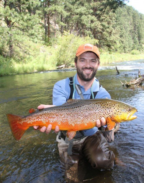 black hills of south dakota provide varied fishing