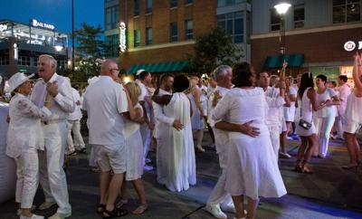 Haymarket in White attendees dance the night away