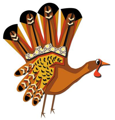 Hand Turkey / traditions story
