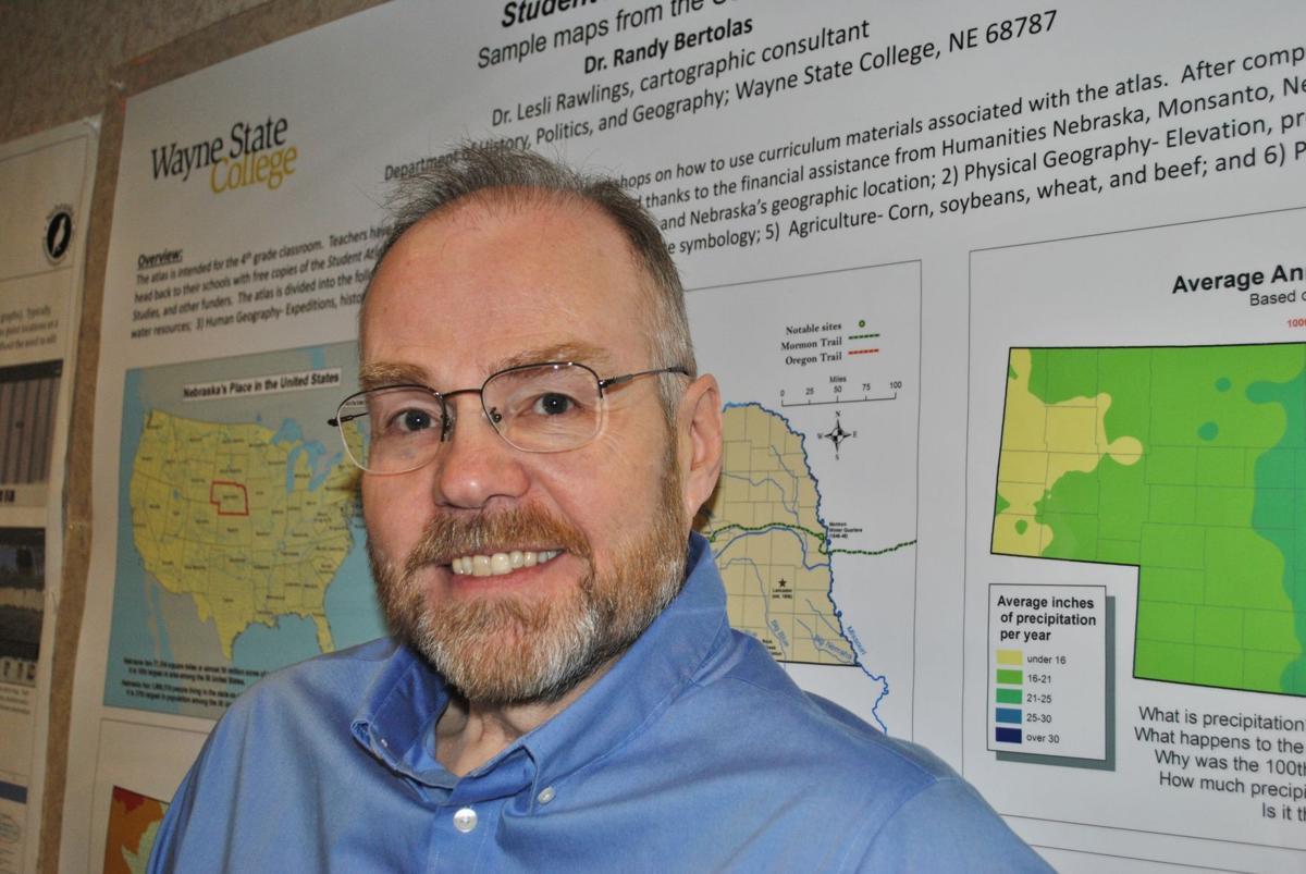 Randy Bertolas, Wayne State College professor