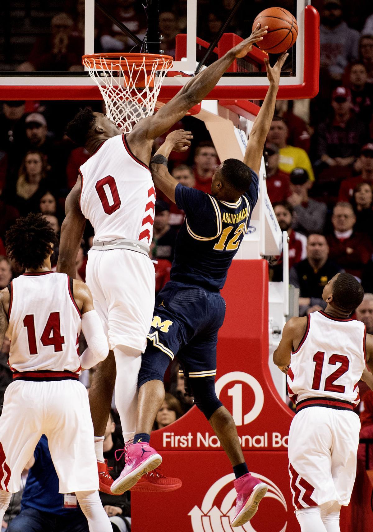 Michigan Basketball vs. Nebraska, 1/18/19