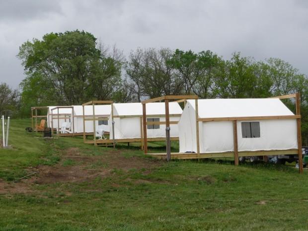 Bungalow tents