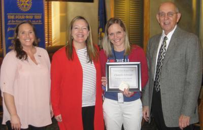 Teacher of the Month - Chantelle Schroeder group