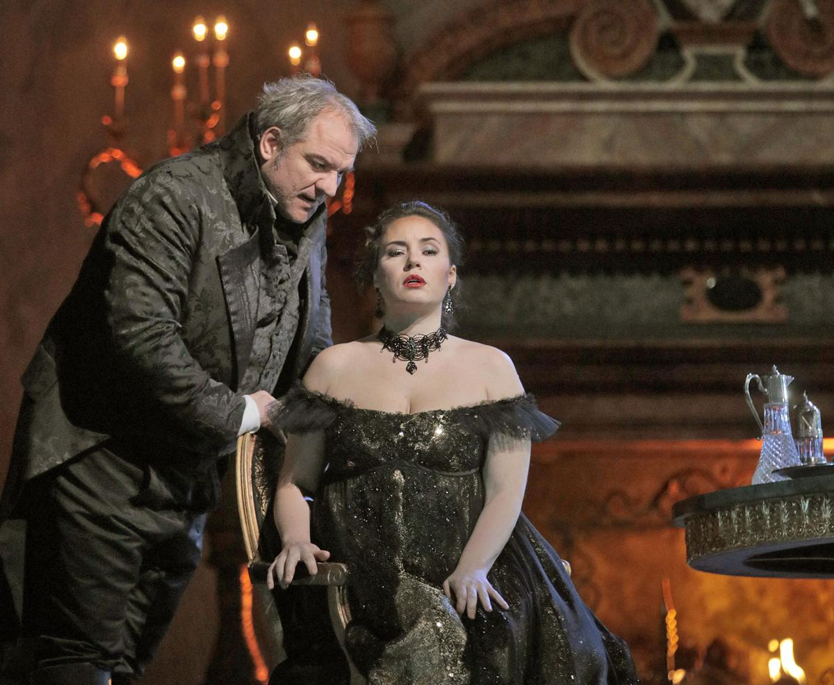 Tosca at the Met