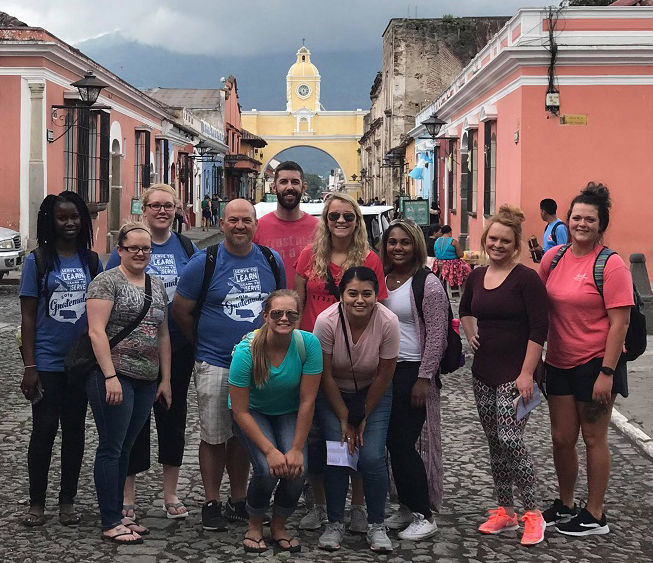 Group from SCC in Guatemala