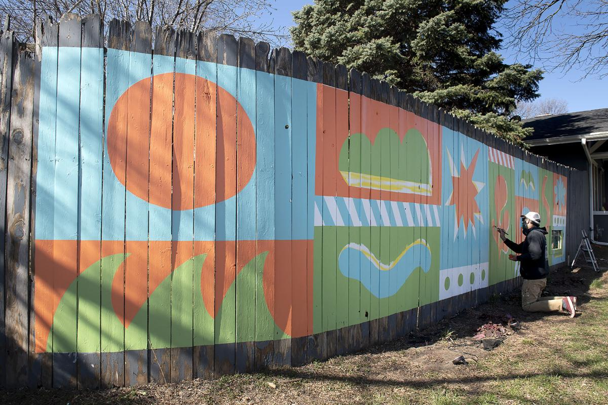 South 27th and Washington Streets mural