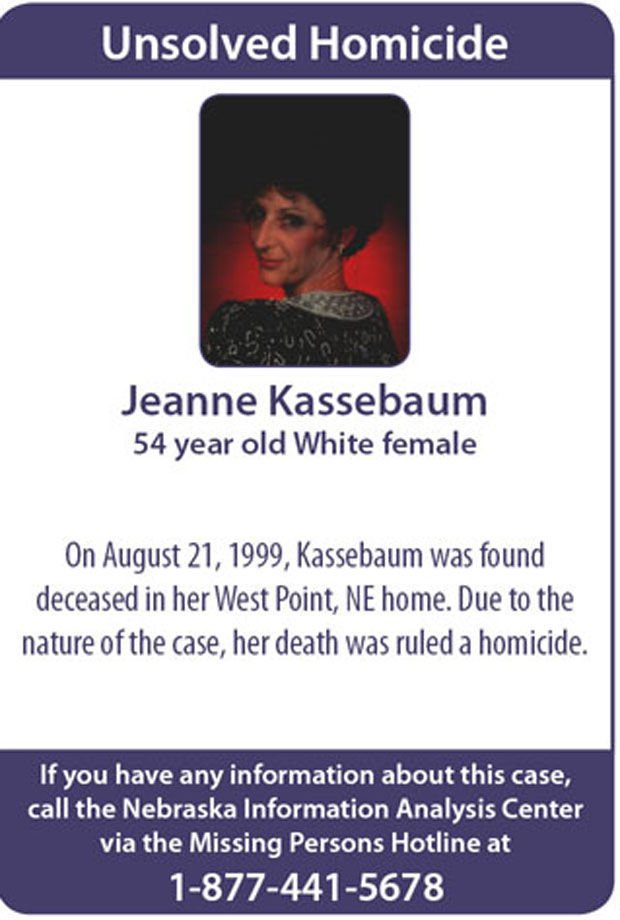 Getting away with murder: Nebraska cold cases | Crime and Courts