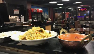 Rice, Chicken Biryani & Chicken Tikka Masala