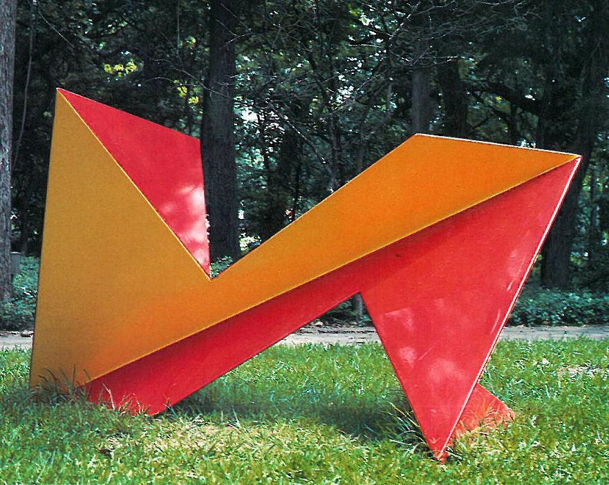 Crazed sculpture