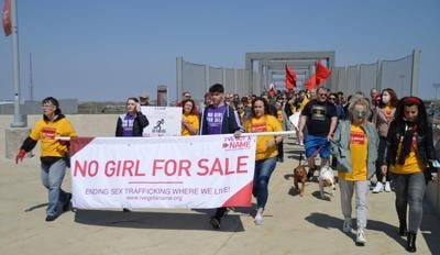 Walk for Freedom calls attention to local human trafficking