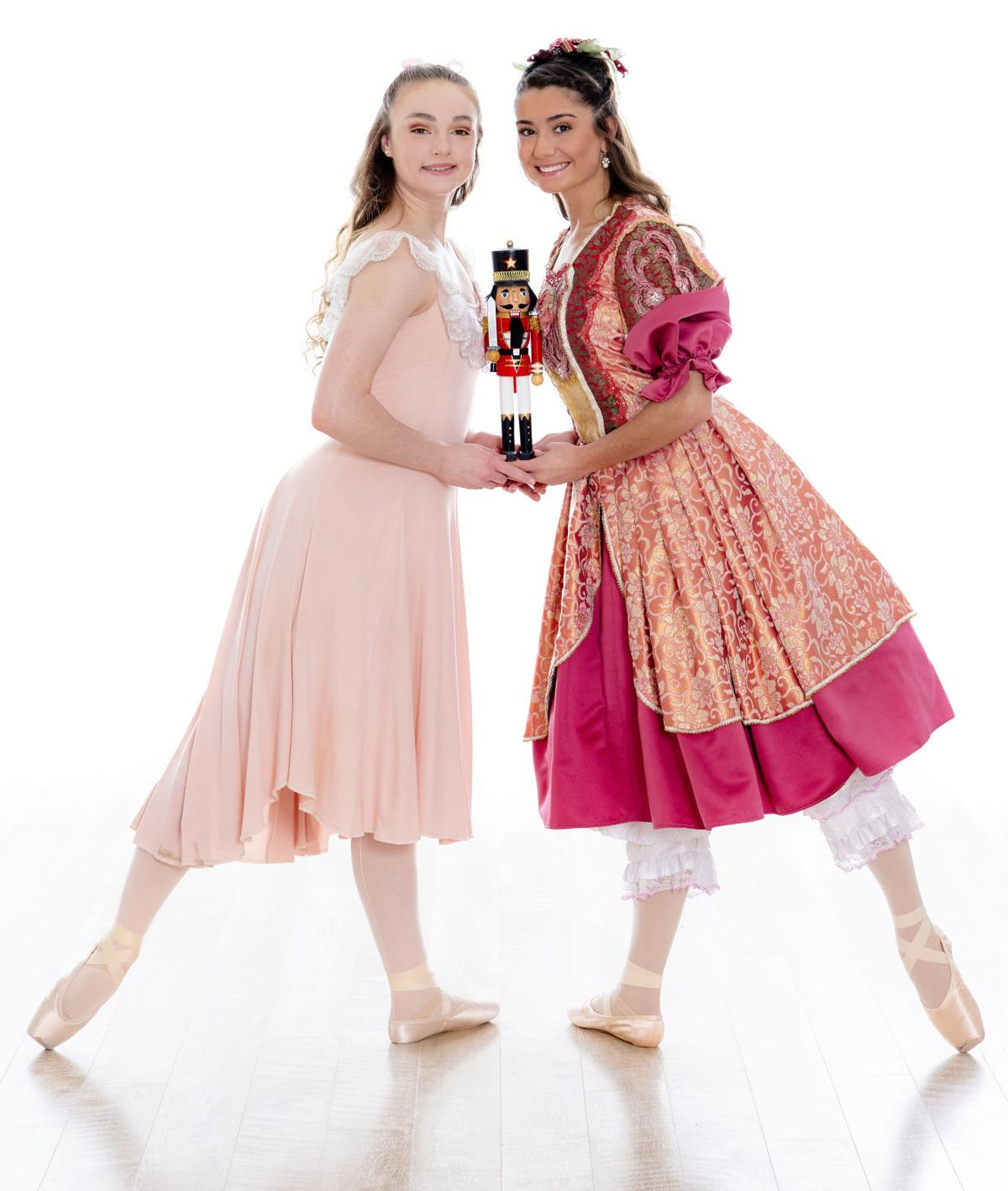Abigail Hovendick and Maggie Oulianova as Clara