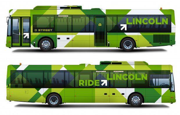 Lincoln Buses - new branding