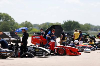 Aerospace Companies Find Engineers At Nebraska Race Car Competition