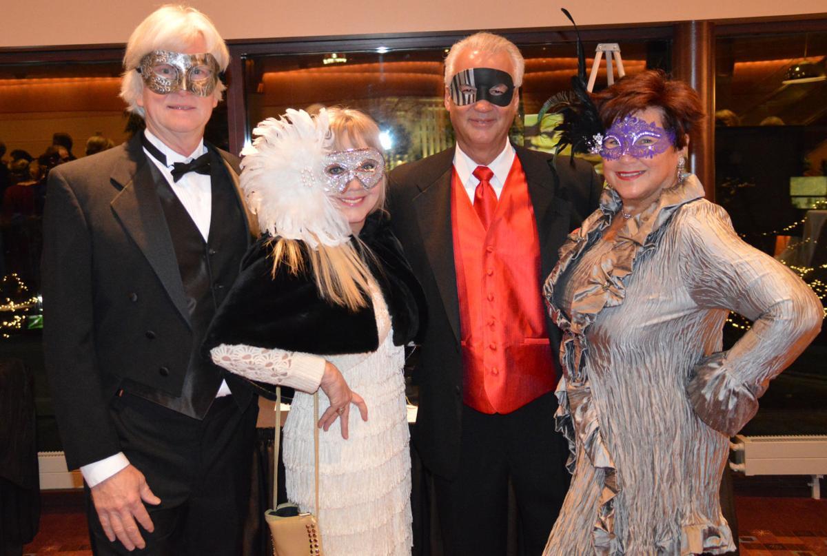 Tom Marshall, Julia Noyes, and Bob and Lanny Barth