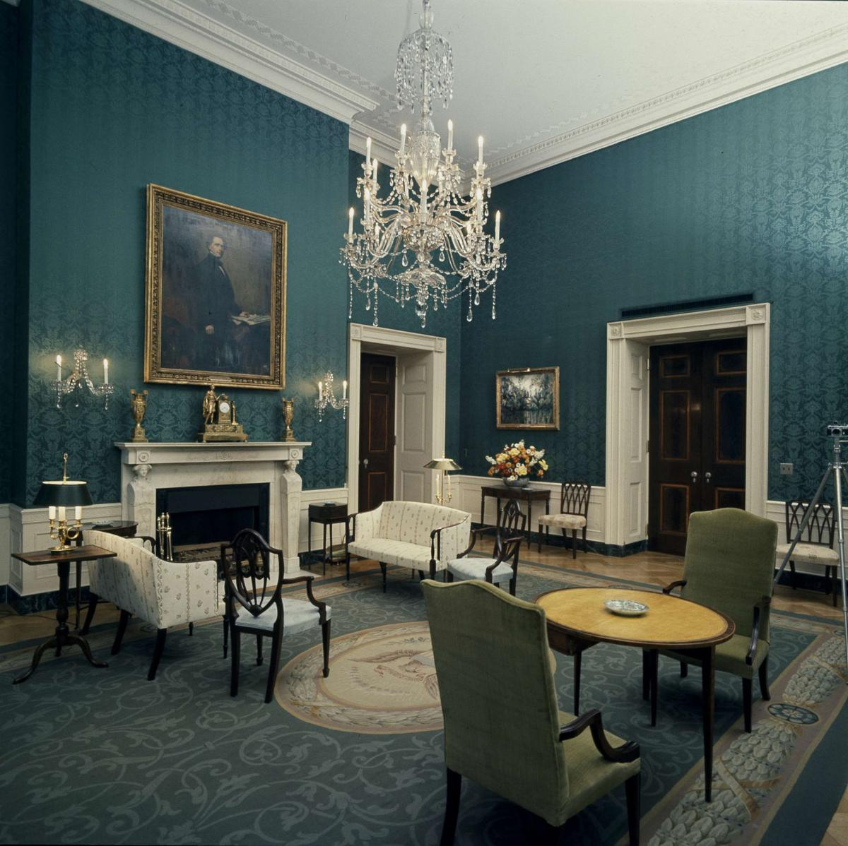 Photos: Inside The White House's Color-coded Rooms