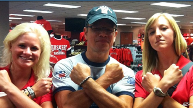 Matt Damon's nephew hopes to play for Huskers