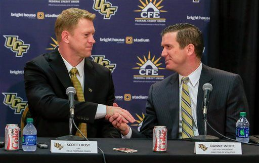 UCF's Frost promises to bring exciting brand of offense