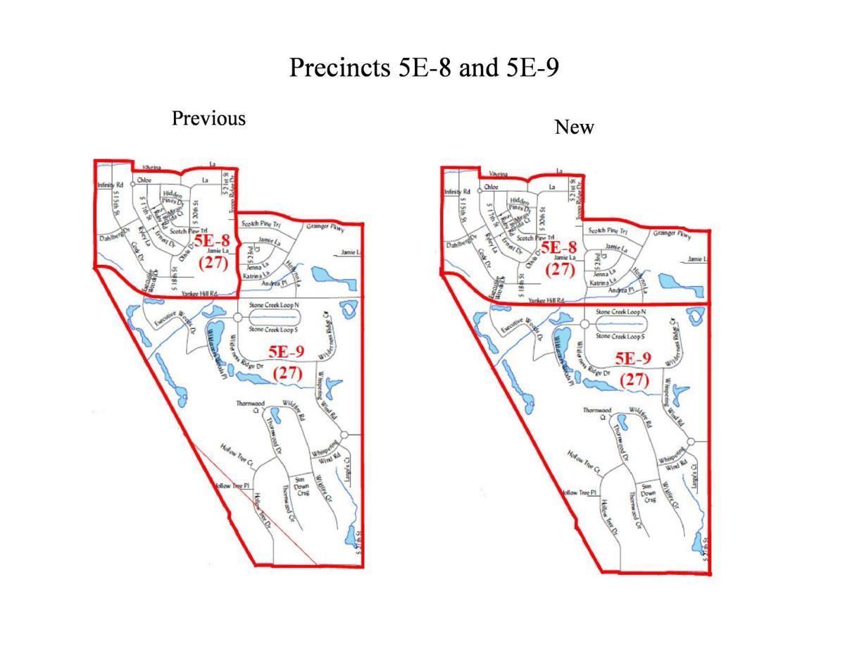 Precincts 5E-8 and 5E-9