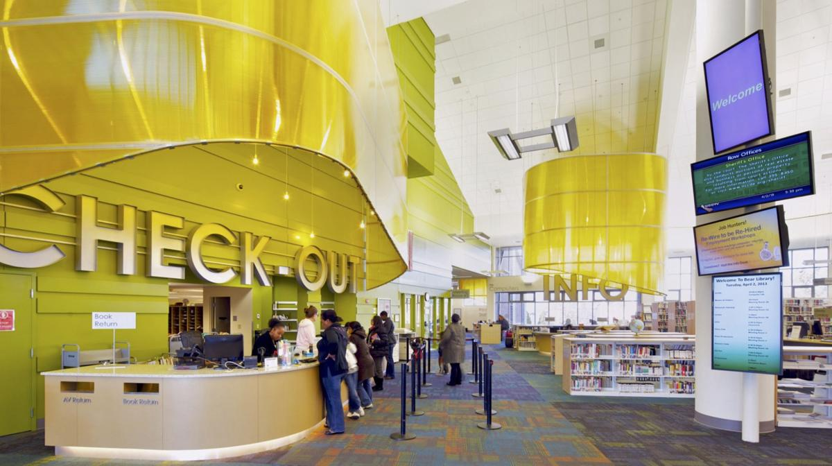 Library spaces