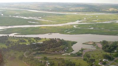 Lewis and Clark Lake sedimentation