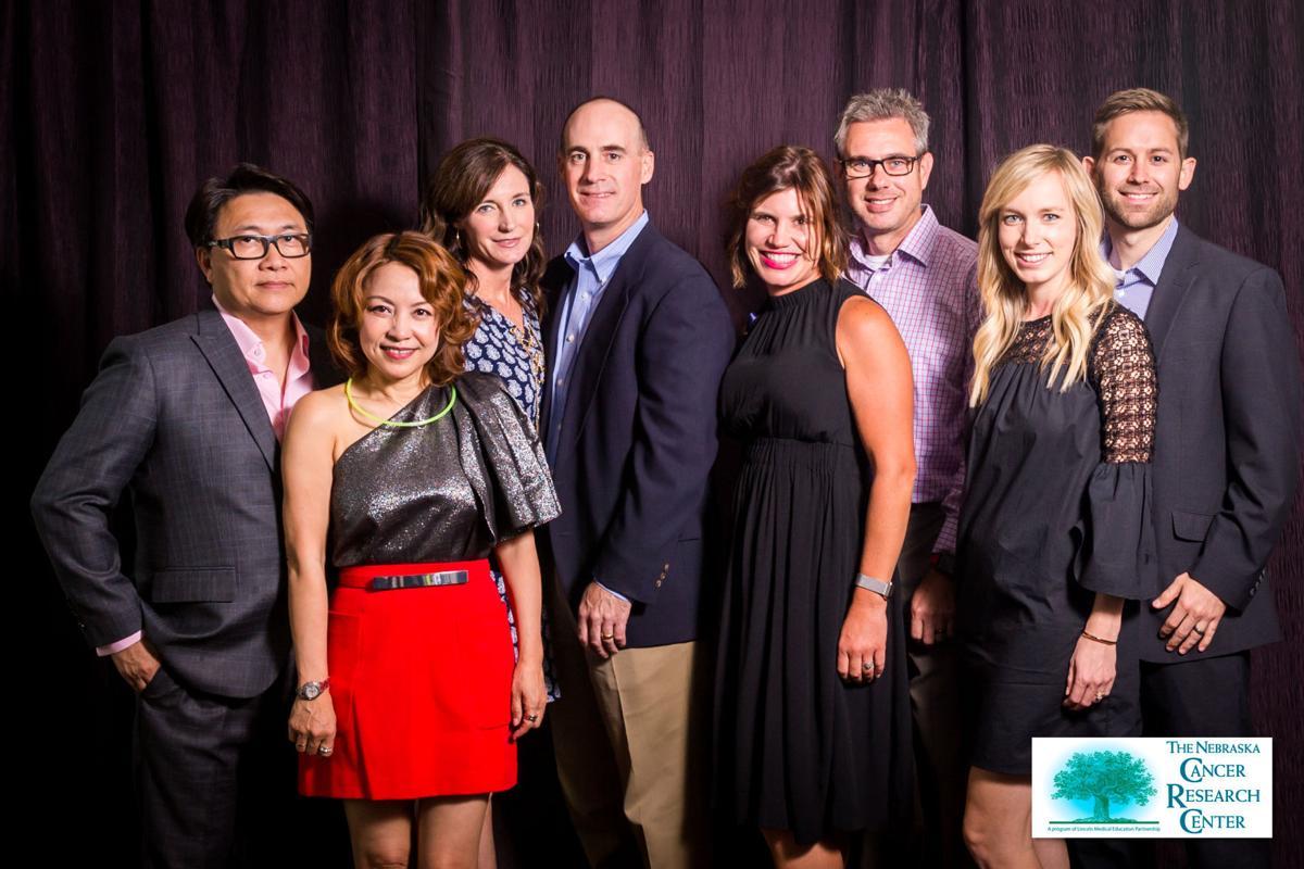 Platinum sponsor Southeast Nebraska Cancer Center staff members and spouses