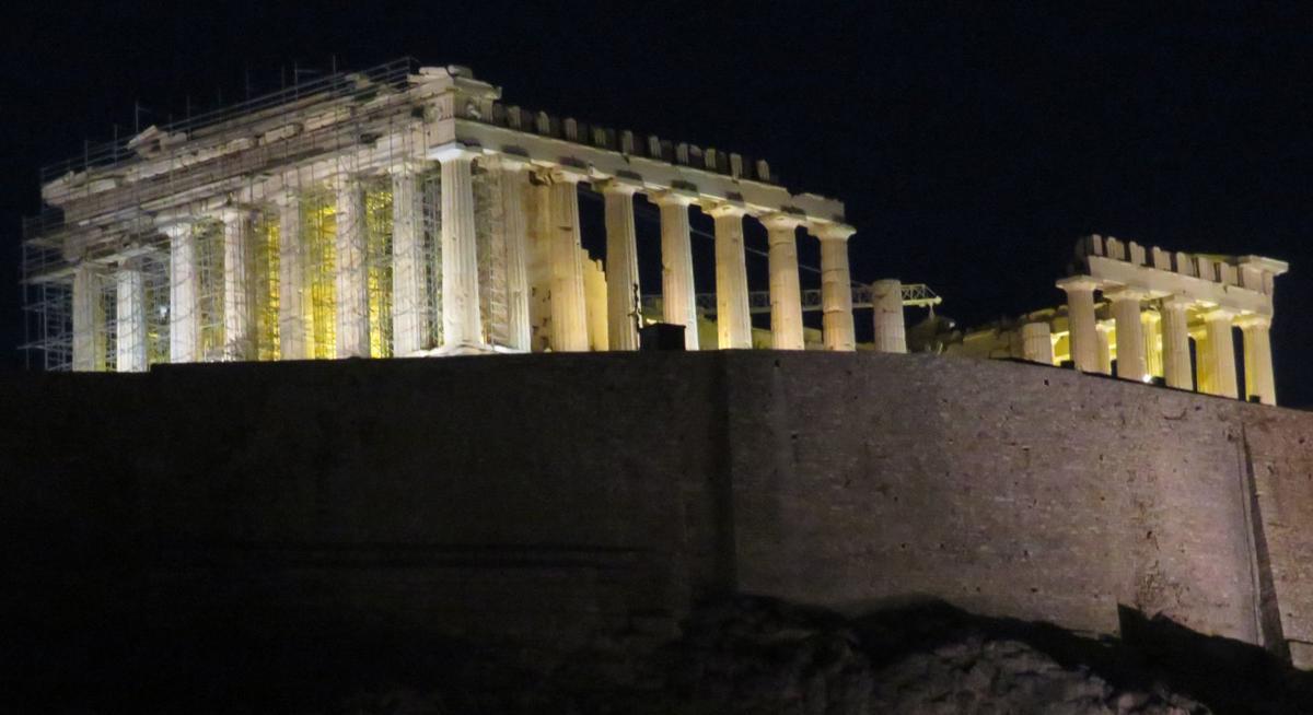 The Parthenon, Acropolis, in Athens