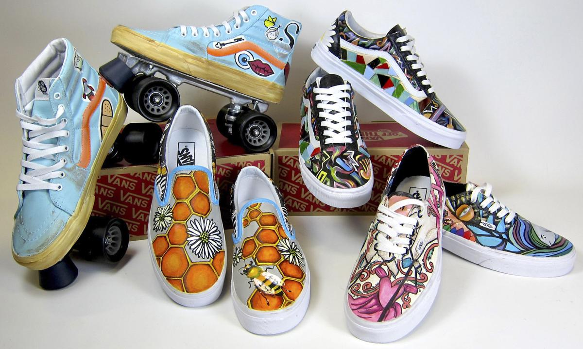 d66ad76047 Lincoln Southeast students decorated Vans shoes and are finalists for an  award of  50