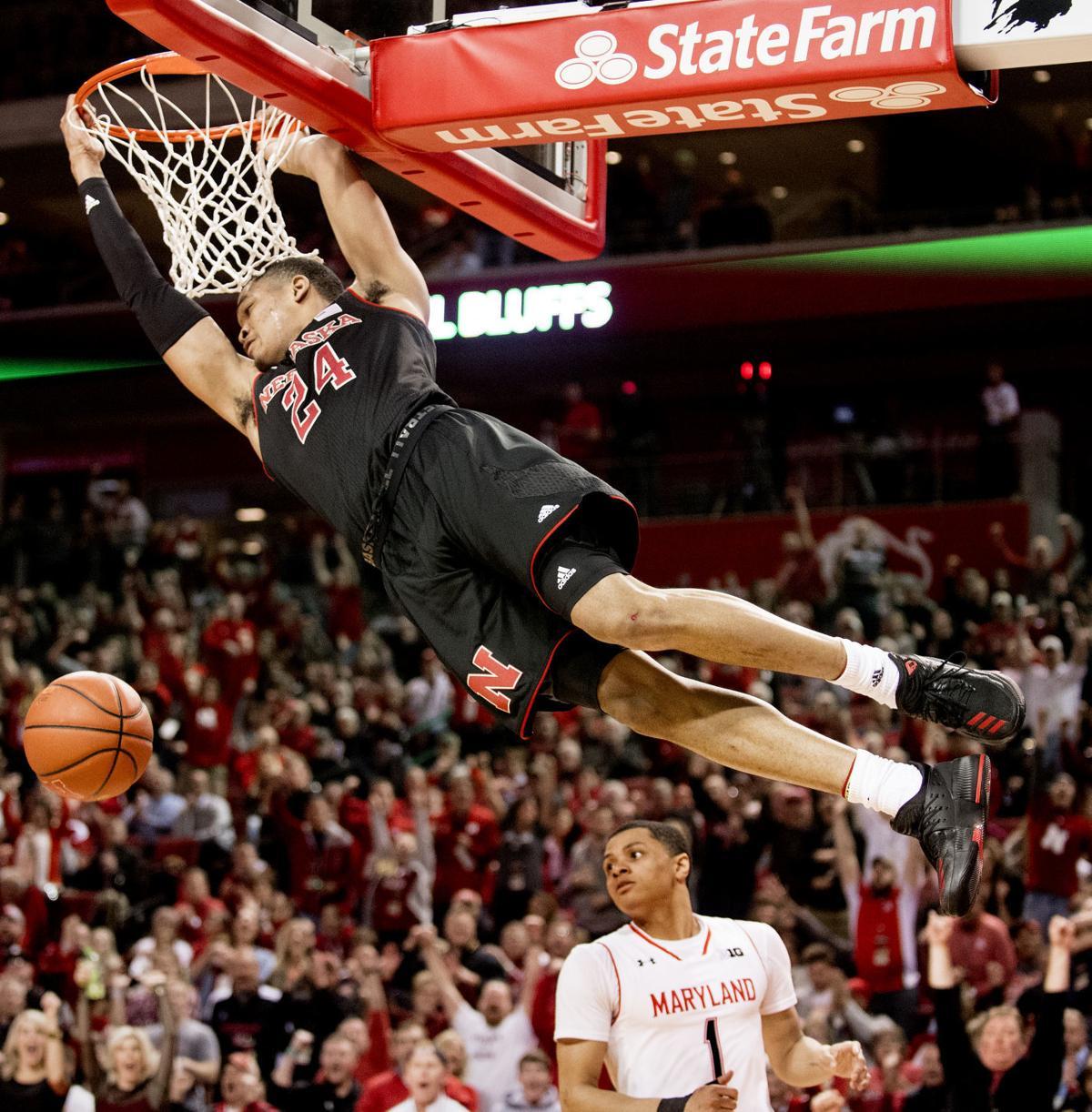 James Palmer dunks against Maryland