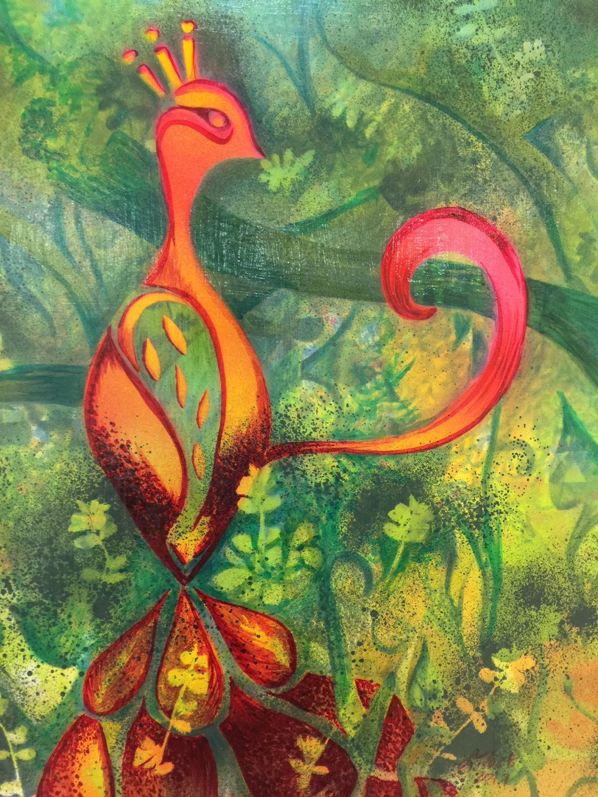 """""""Floral Phoenix"""" by Lynette Fast"""