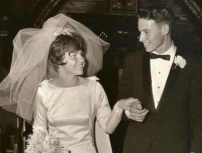 Olsons celebrate 50th wedding annivesary
