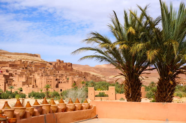 Ancient kasbah, Islamic fortress