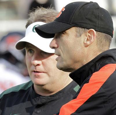 Mike Riley at Oregon State