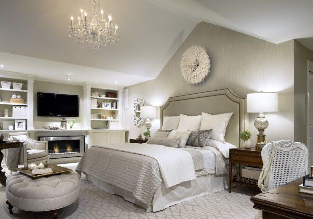 Candice Olson A Restful Monochromatic Bedroom Design - Candice olson bedroom design photos