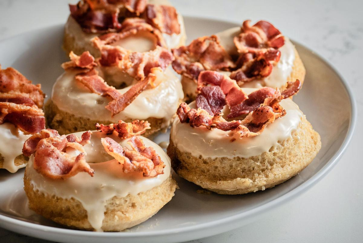 Maple bacon donuts
