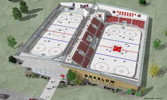 Sale of city property to help fund ice center