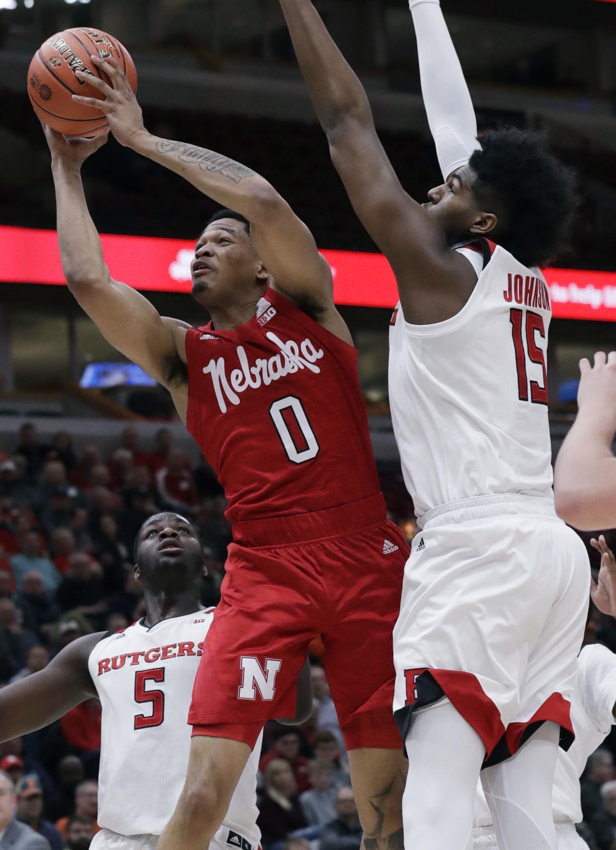B10 Nebraska Rutgers Basketball